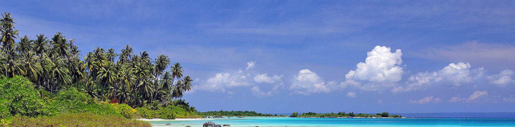 Wunga Island off the west-coast of North Nias (Nias Utara), Nias Island, Indonesia.