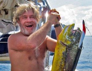 "Mahi-mahi caught off the NW corner of Nias by Keith Sterling onboard SY ""Surf Machine""."