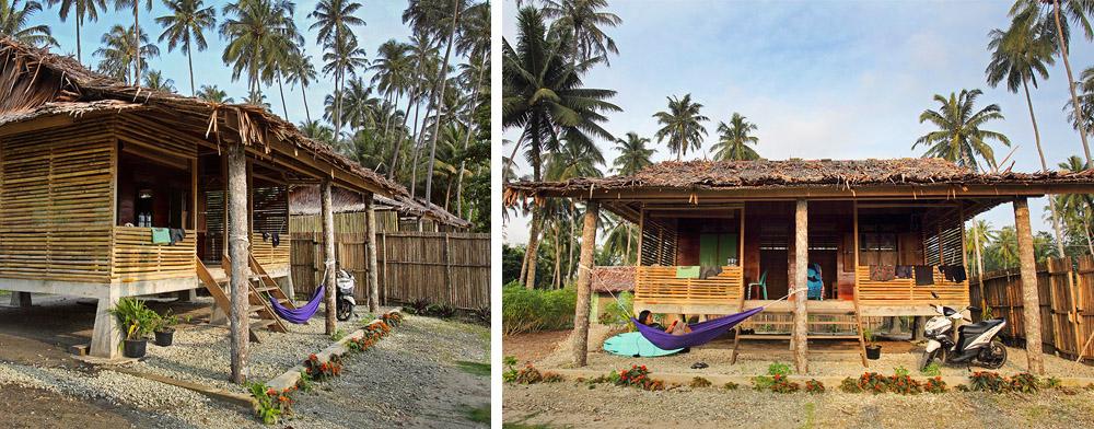 Afulu Retreat standard bungalow.