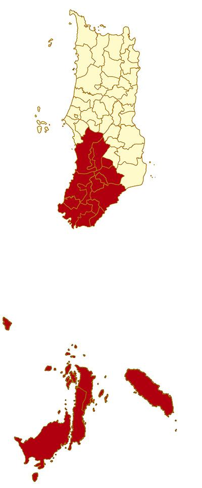 Kabupaten-nias-selatan-map