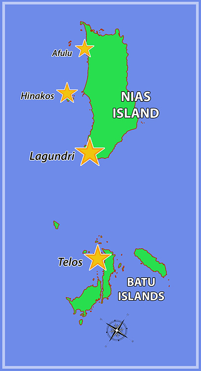 Nias Island Surf Areas