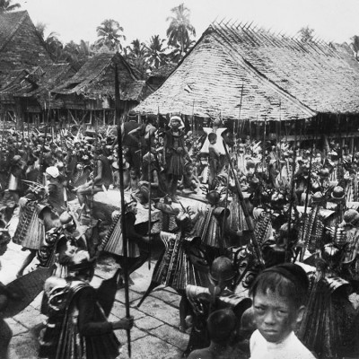 Wardance, South Nias. Tropenmuseum Collection.
