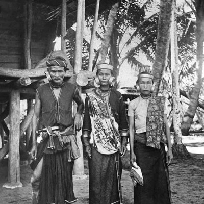 North Nias family. Tropenmuseum Collection.