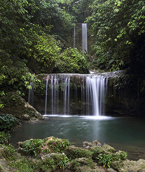 Luaha N'droi waterfall, North Nias.