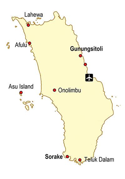Accomodation-map-nias-island