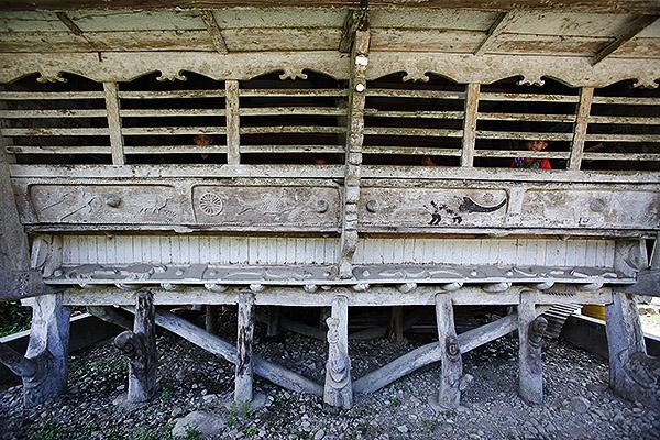 Bawolato traditional house