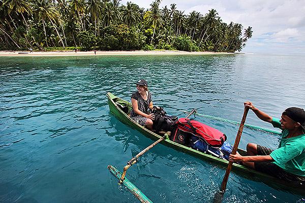 Nias boat trip